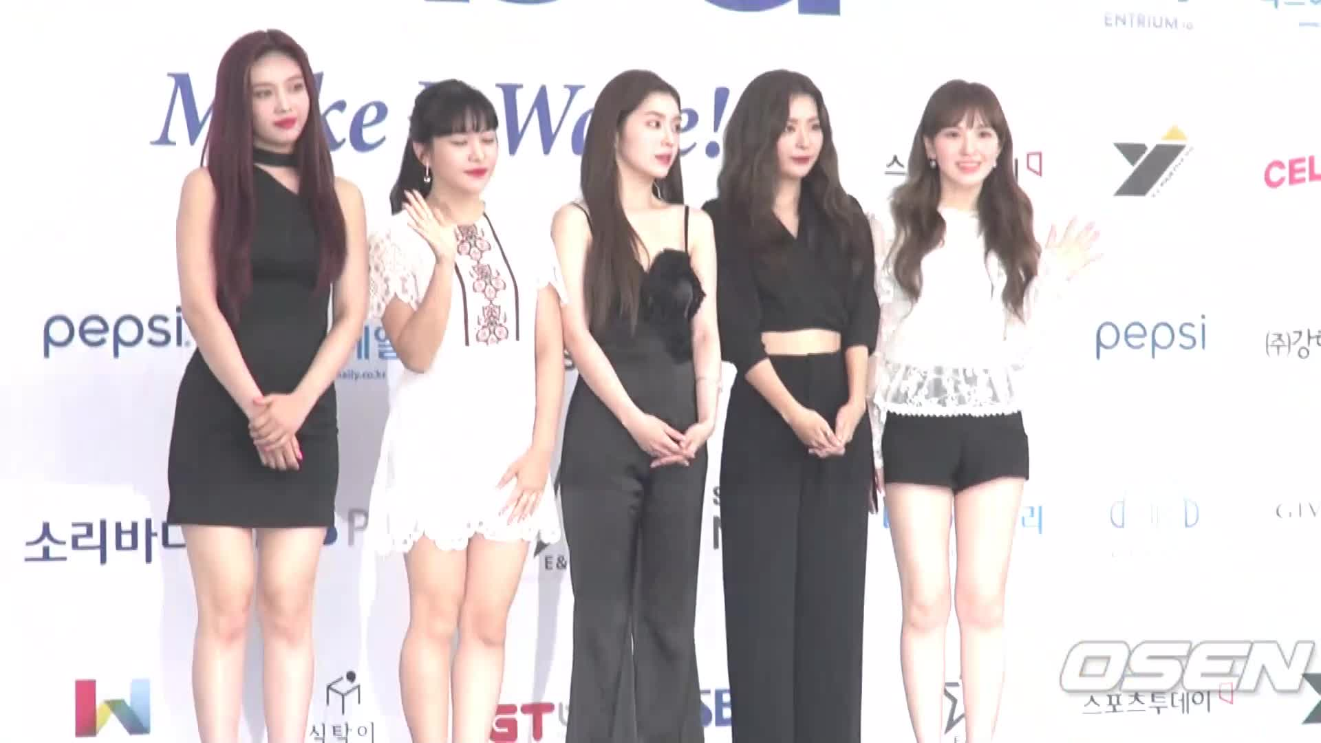 [Oh! 모션]레드벨벳(Red Velvet) 소리바다 베스트 케이뮤직 어워즈 블루카펫