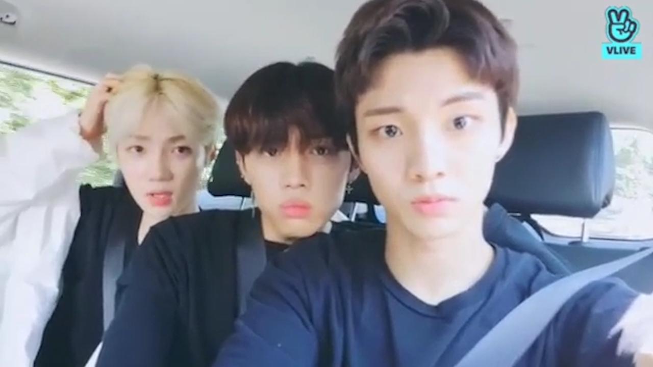 [THE BOYZ] 뇨뇨뇨뇨 초코우유 귀여워서 뇨뇨뇨뇨 🍫🍼(NEW&Q&SUNWOO's V in the car)