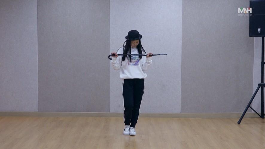 [Produce 48] MNH 이하은 1분 PR 연습 영상