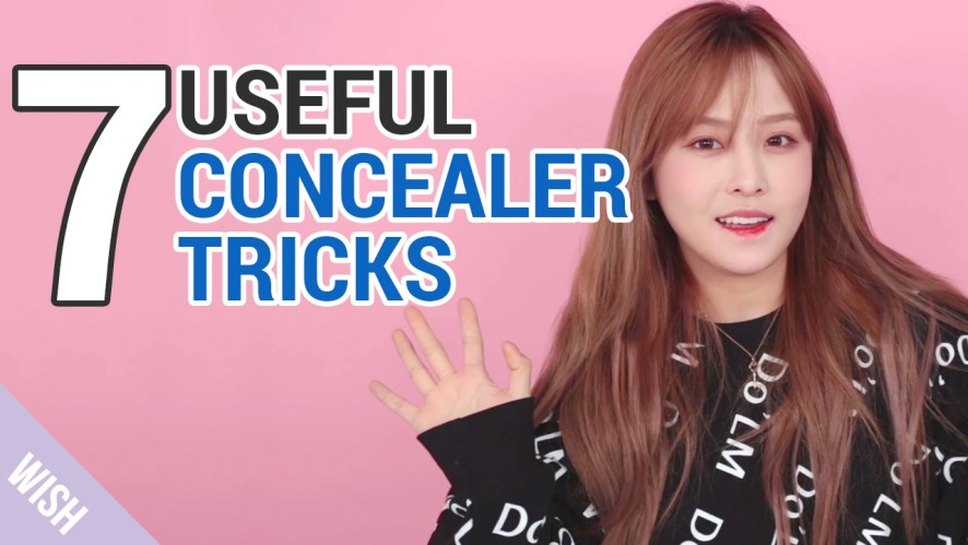 Kasper's Concealer Hacks | 7 Different Ways to Use Korean Best Concealer | Wishtrend TV