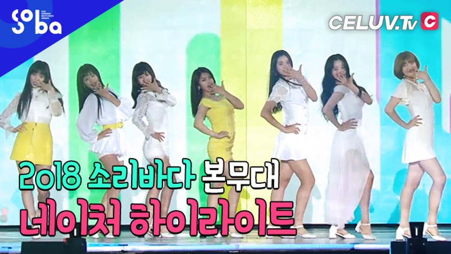 [셀럽티비/2018SOBA] 본무대, '네이처' 하이라이트