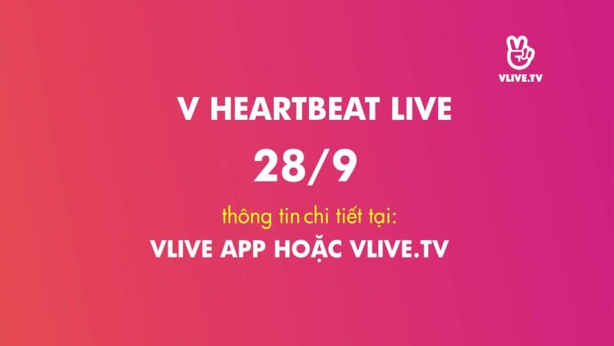 Đón chờ V Heartbeat 28/9 cùng Hyomin và AOA