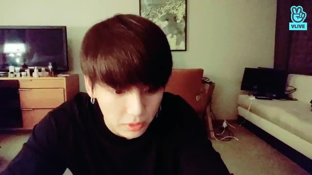 BTS Live : 흑발 자랑 라이브😍