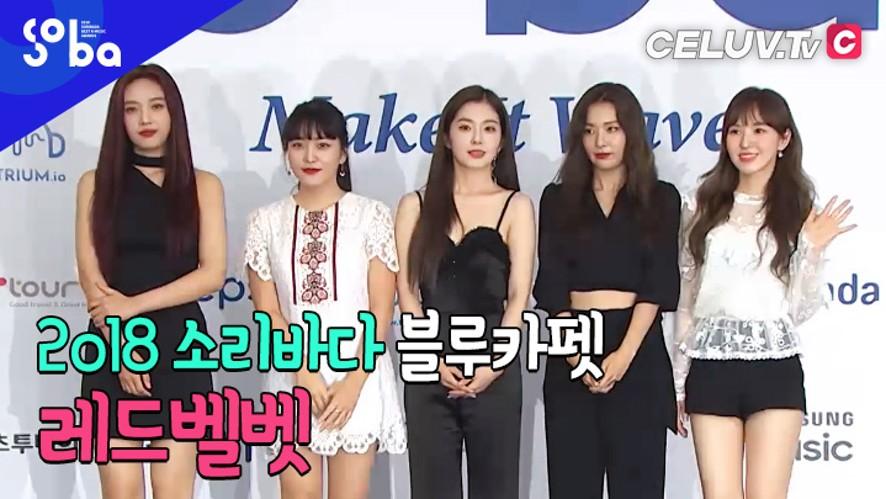 [셀럽티비/2018SOBA] 블루카펫, '레드벨벳'