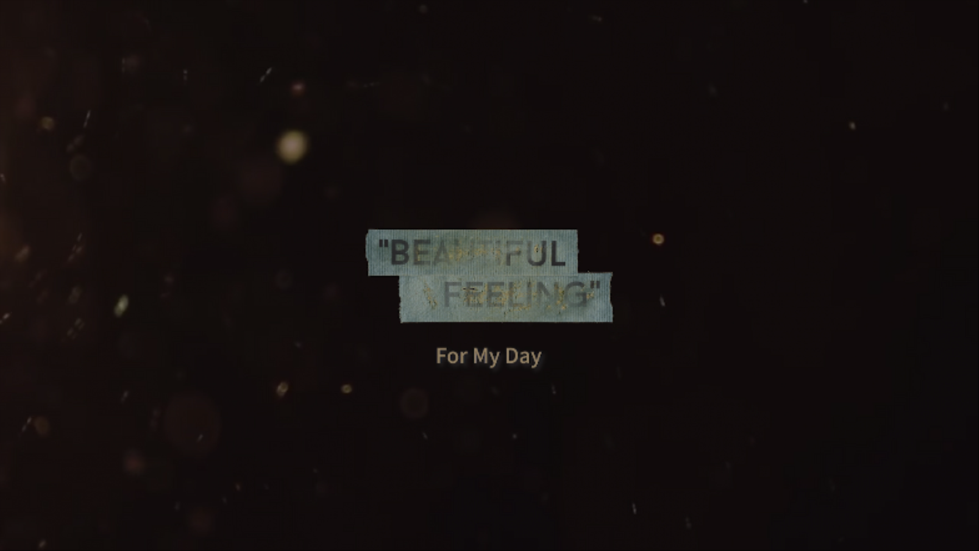 "DAY6(데이식스) ""Beautiful Feeling"" Short Video (Studio ver.)"