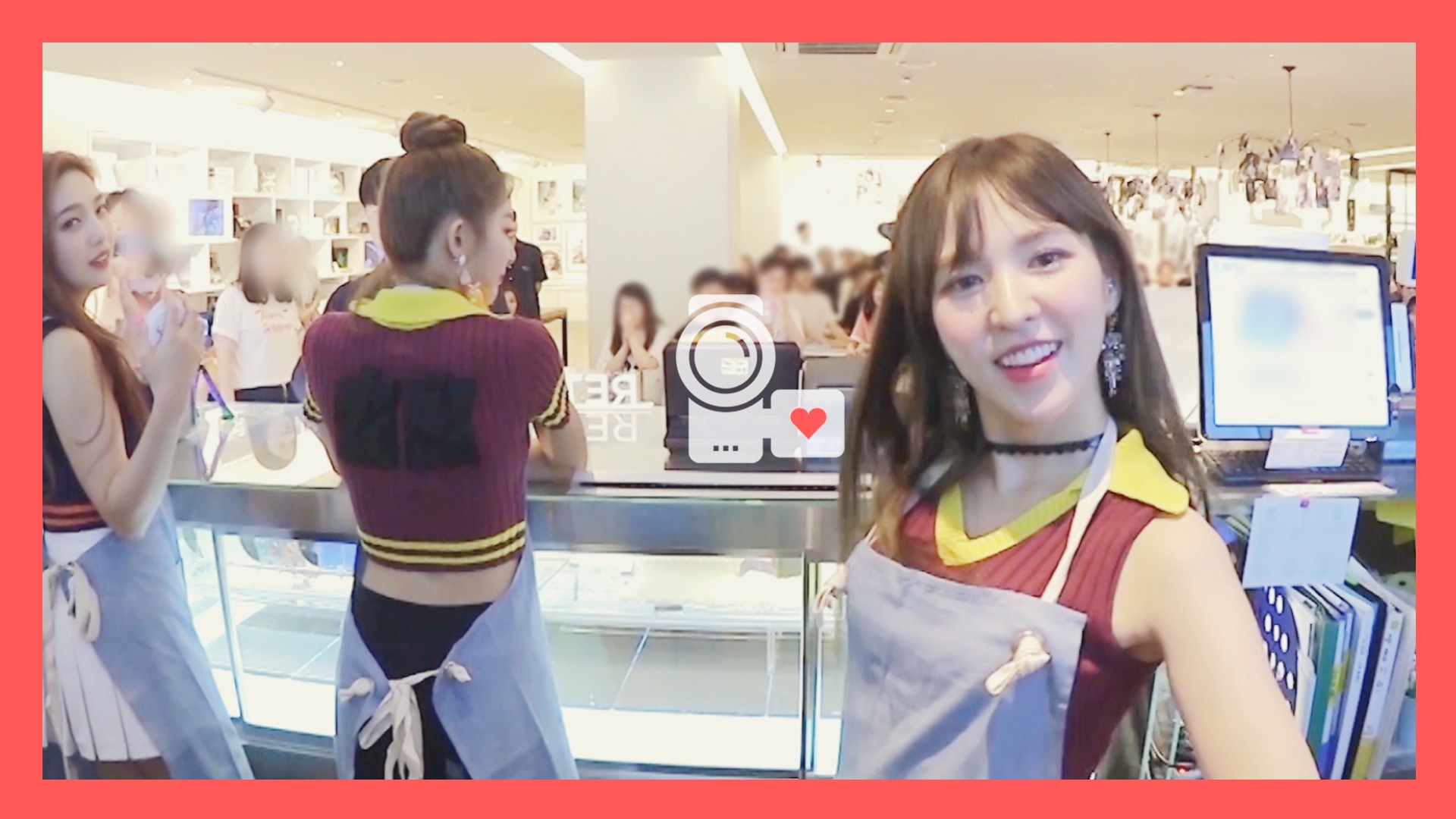 Red Velvet 레드벨벳 아이컨택캠 (EYE CONTACT🎥) EP.4