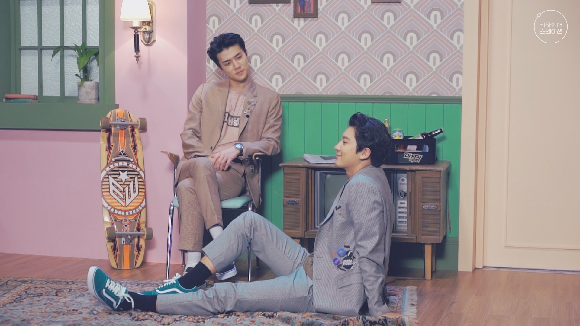 [STATION X 0] 찬열 (CHANYEOL) X 세훈 (SEHUN) 'We Young' 비하인더스테이션