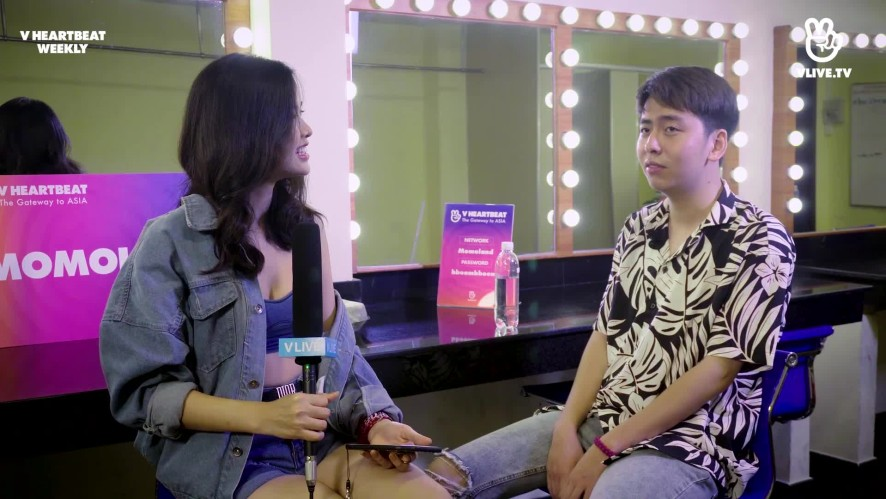 [V HEARTBEAT WEEKLY] EP.09 - Hot singer interview with OSAD