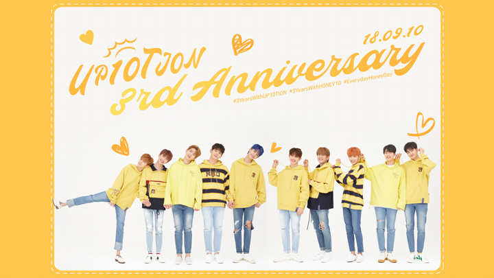 💛UP10TION 3rd Anniversary💛