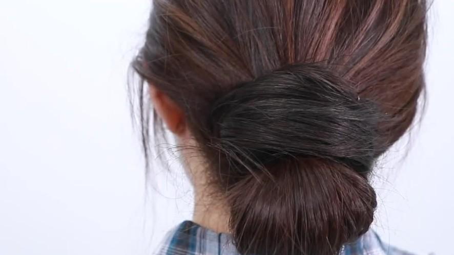 [1분팁] 초간단하게 내추럴번 묶는 방법
