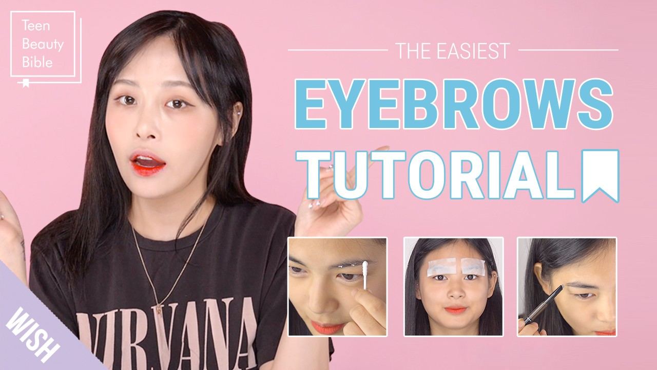 How to Get Perfect Brows | The Easiest Brows Tutorial for Beginners | Teen Beauty Bible