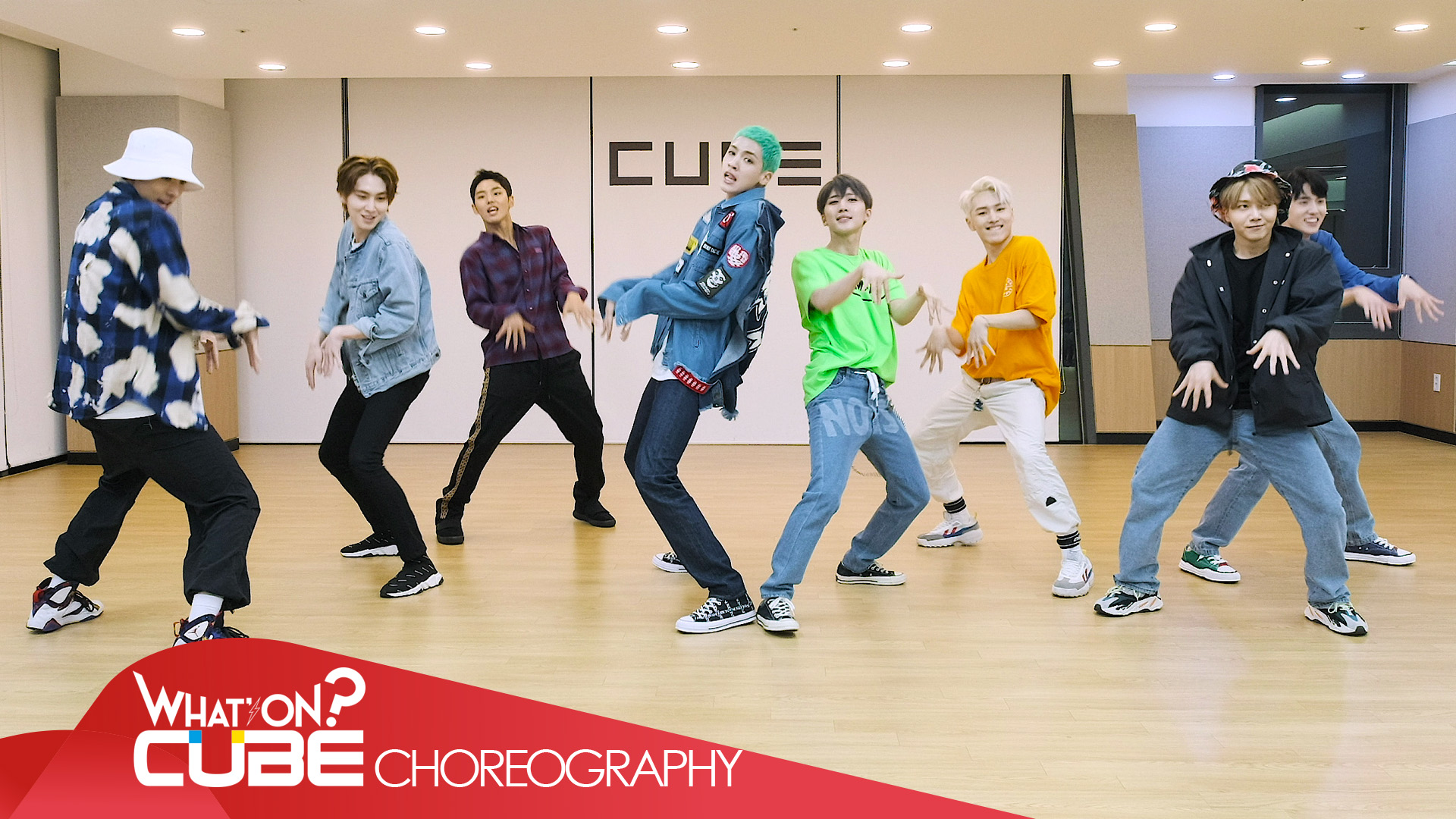 펜타곤 - '청개구리(Naughty boy)' (Choreography Practice Video)