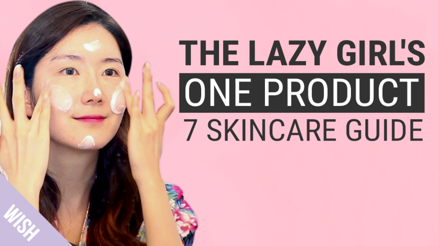 Lazy Skincare Routine with Eunice   feat Koonice   Wishtrend TV
