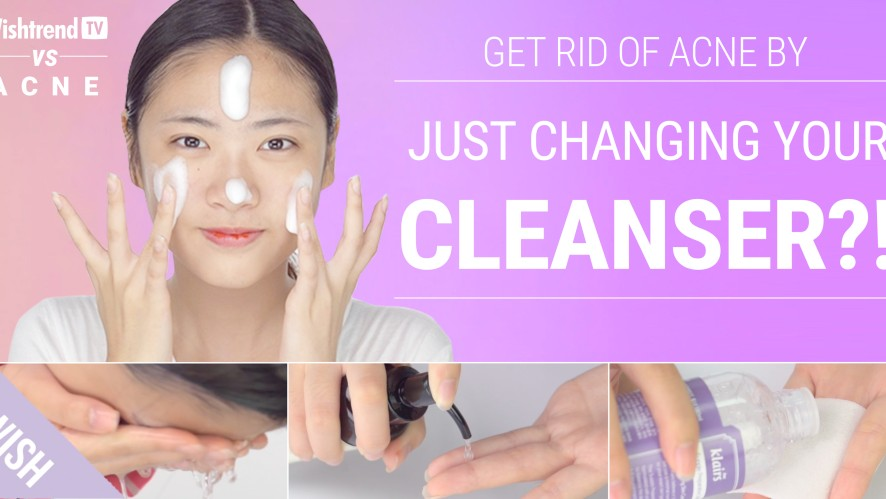 Acne Clearing Cleansing Secret | Best Face Wash for Acne Free Skin | WishtrendTV VS ACNE