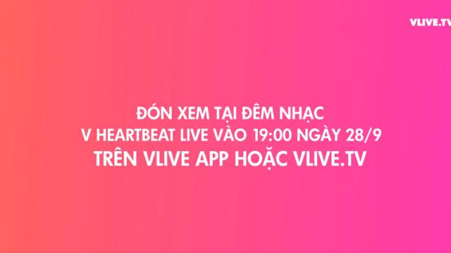 [TEASER] V HEARTBEAT LIVE SEPTEMBER