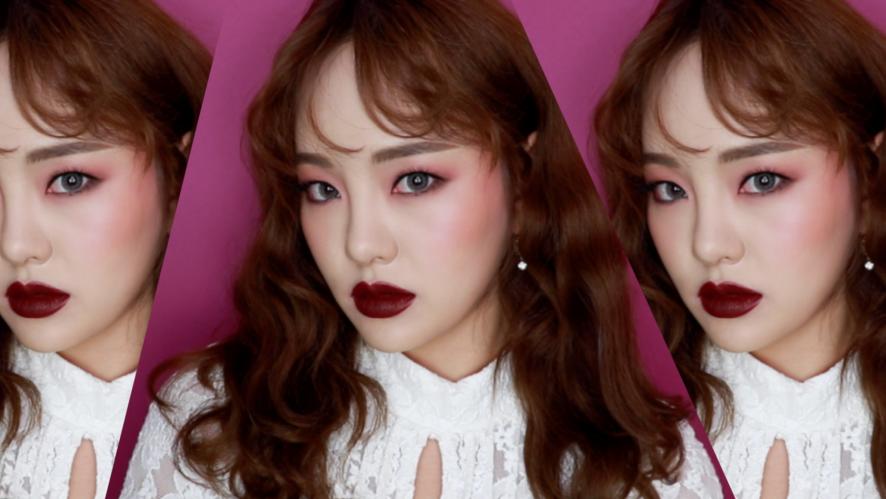 [EMMA BEAUTY 엠마뷰티] 태연 할로윈 화보 메이크업 Halloween Makeup (with B.by BANILA, BANILACO)