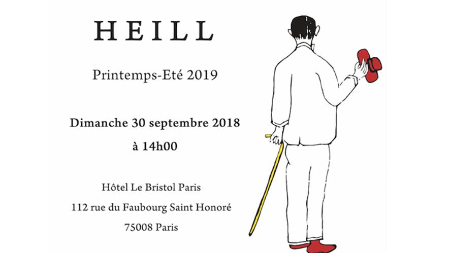 [V StyLive] HEILL 19SS Paris Fashion Week