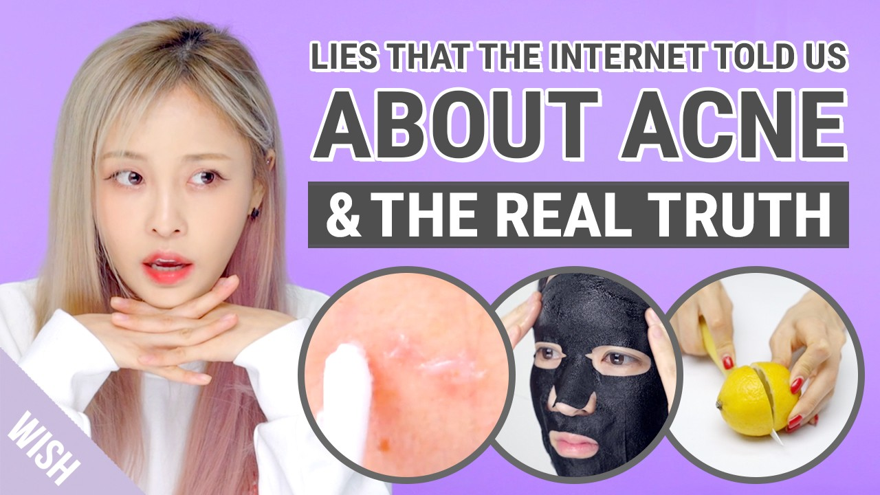 Biggest Acne Truth & Lies | 5 Beauty Myths on Acne