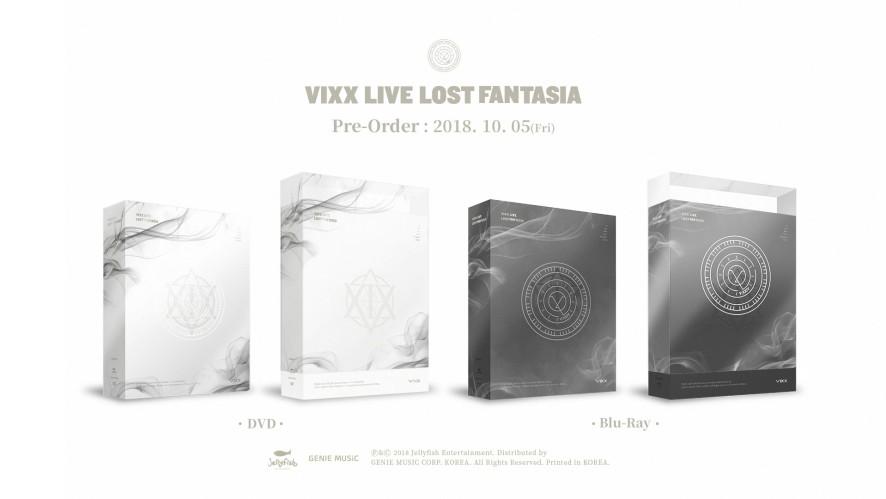 < VIXX LIVE LOST FANTASIA DVD & Blu-ray > TEASER RELEASE