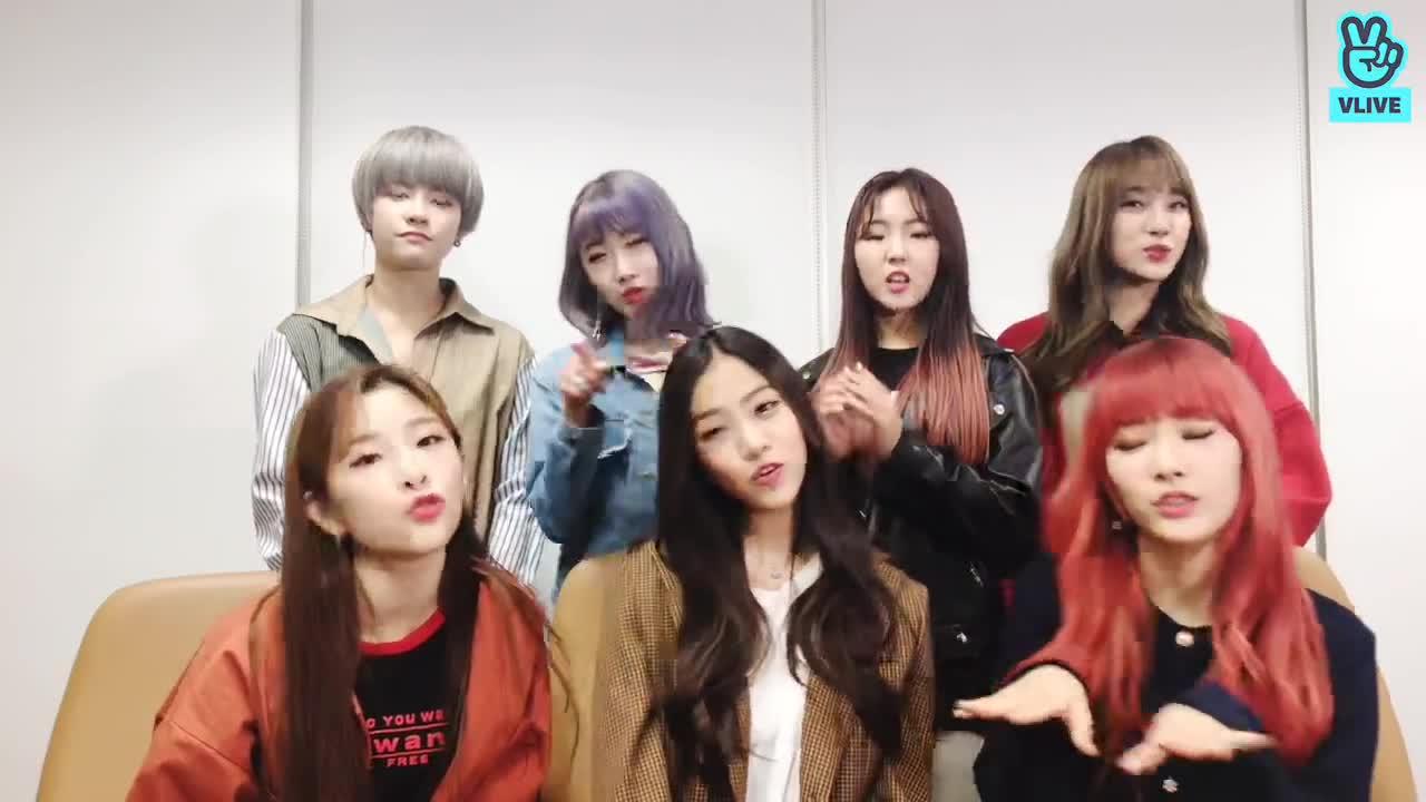 [GWSN V] GOT YA! 공원소녀 본방사수 완료 V LIVE #10
