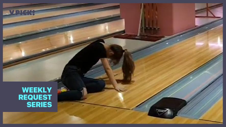 [IZ*ONE] 최볼링(2.00)과 볼링꿈나무들🎳 (IZ*ONE playing bowling)