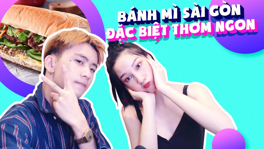 TRANG MING - MIN MIN | Bánh mì Sài Gòn, đặc biệt thơm ngon