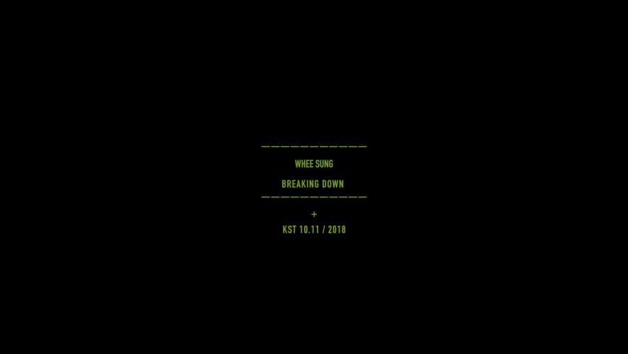 휘성(Whee Sung) - Breaking Down M/V  TEASER