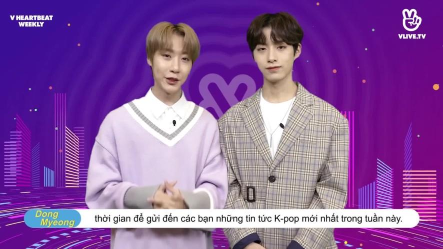 [V HEARTBEAT WEEKLY] Ep.14- K POP CHART & NEWS