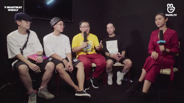 [V HEARTBEAT WEEKLY] EP.14 - Hot singer interview DA LAB
