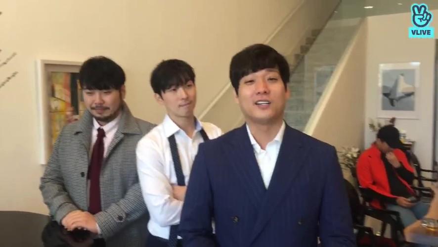 김정원의 V살롱콘서트 - 미라클라스 리허설 현장!!10월 15일 저녁 8시 V라이브 예고!