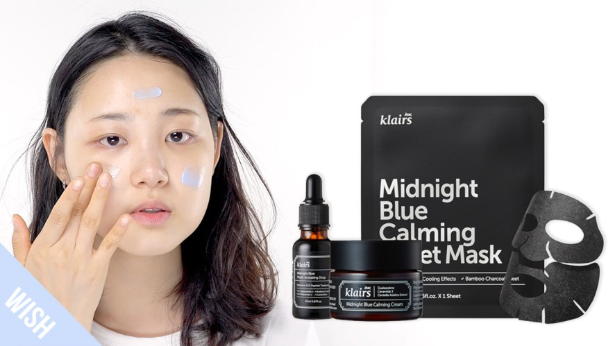 The Perfect Routine to Soothe Damaged, Acne-Prone Skin | KLAIRS Midnight Blue Calming Line