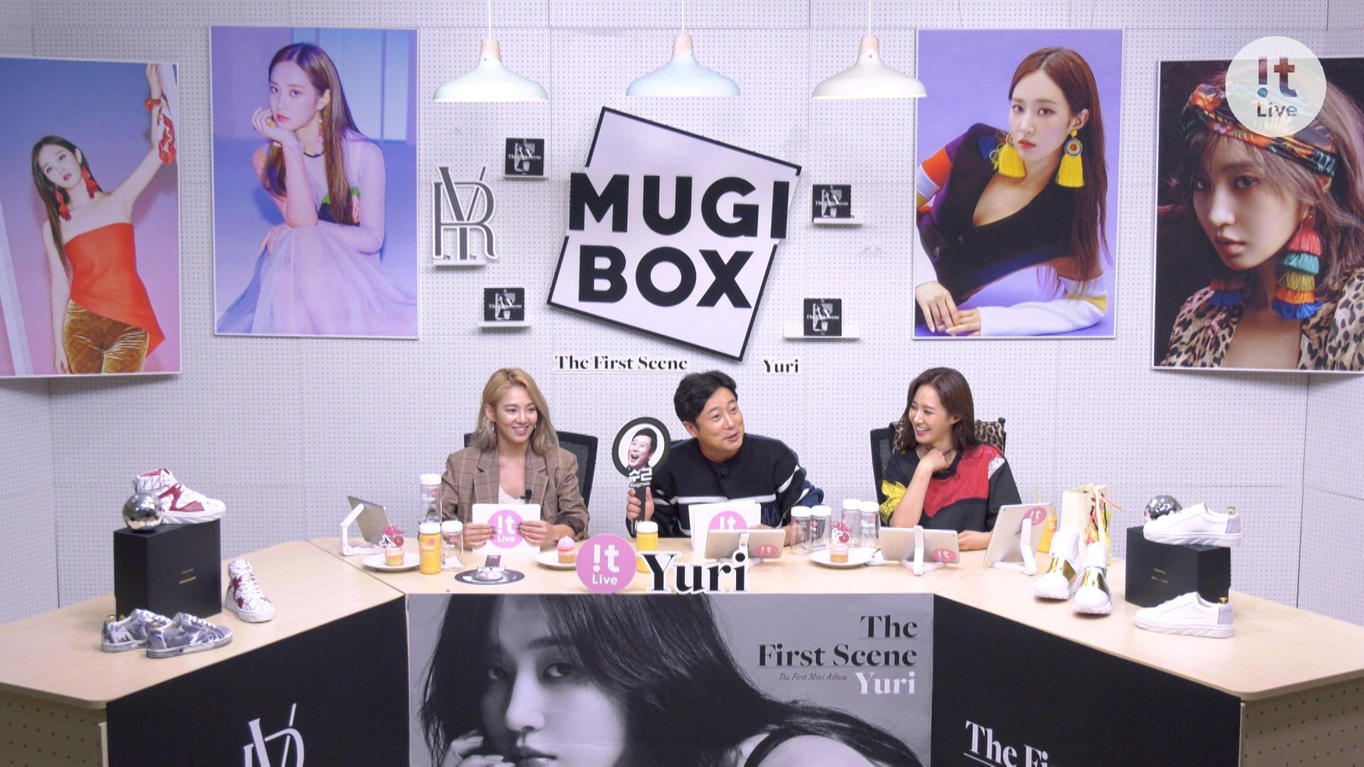 "!t Live(잇라이브) : The 10th MUGI-BOX(뮤기박스) ""YURI 유리"""