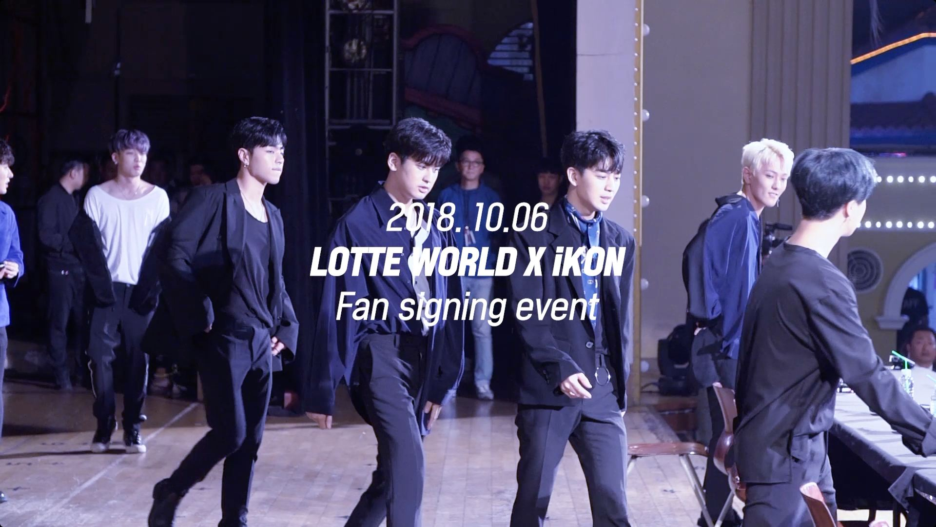 iKON - 'GOODBYE ROAD' FAN-SIGNING DAY IN JAMSIL