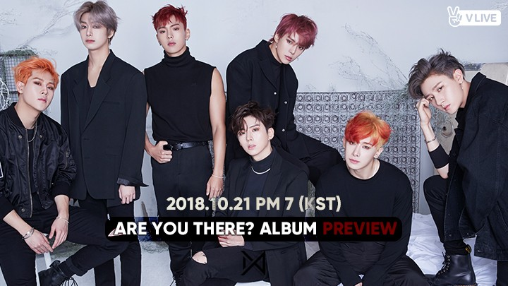 [MONSTA X] ARE YOU THERE? ALBUM PREVIEW