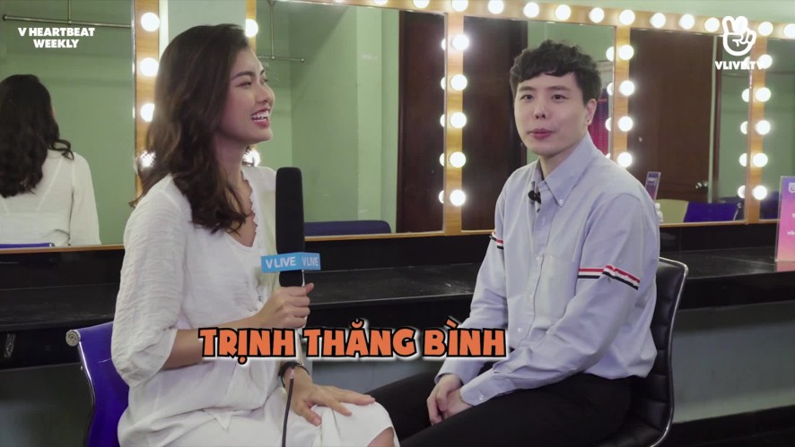 [V HEARTBEAT WEEKLY] EP.15 - Hot singer interview with Trịnh Thăng Bình