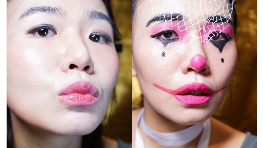 [1분팁] 할로윈분장, 그아이의 삐에로 어때? That kid's Clown Makeup for Halloween