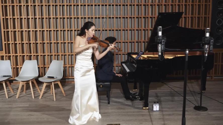 [연주클립] V살롱- 바이올리니스트 한수진_ 생상스 서주와 론도 카프리치오 Op.28