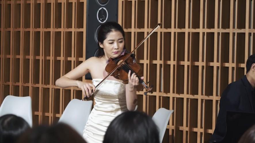[연주클립] V살롱- 바이올리니스트 한수진 J.Massnet: Meditation From Thais