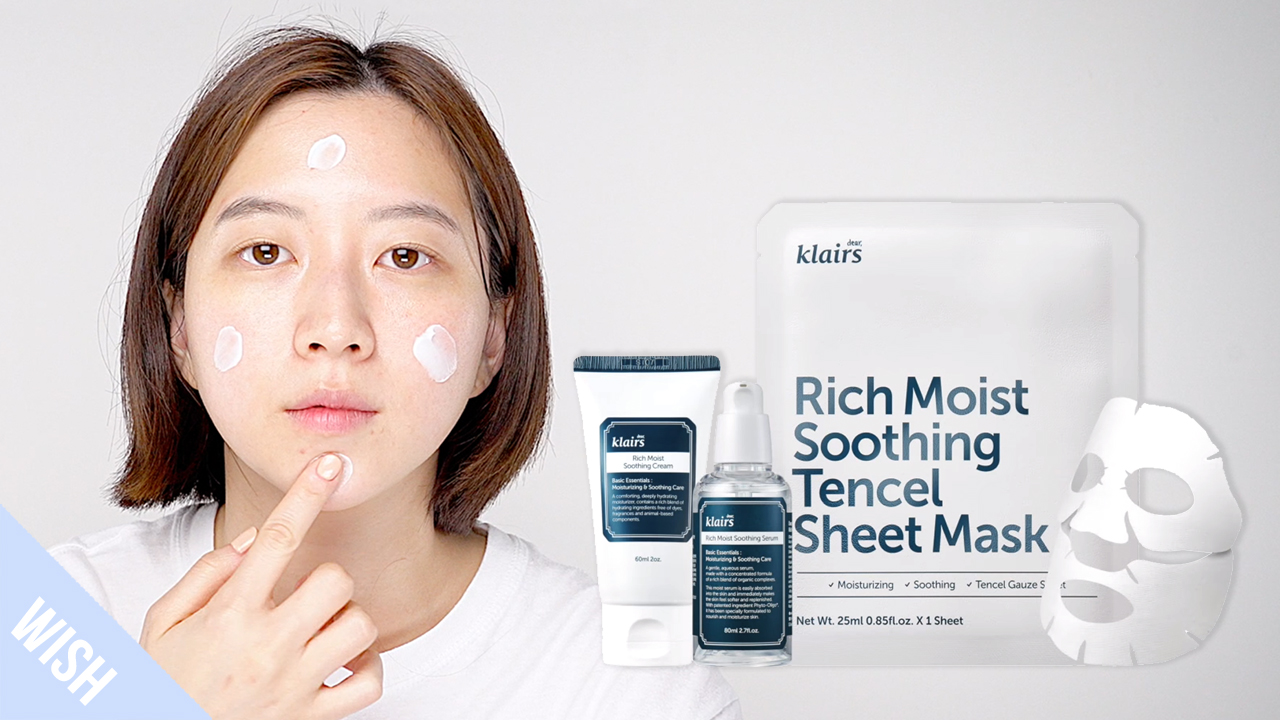 Routine to Strengthen Dry, Sensitive Skin | KLAIRS Rich Moist Soothing Line