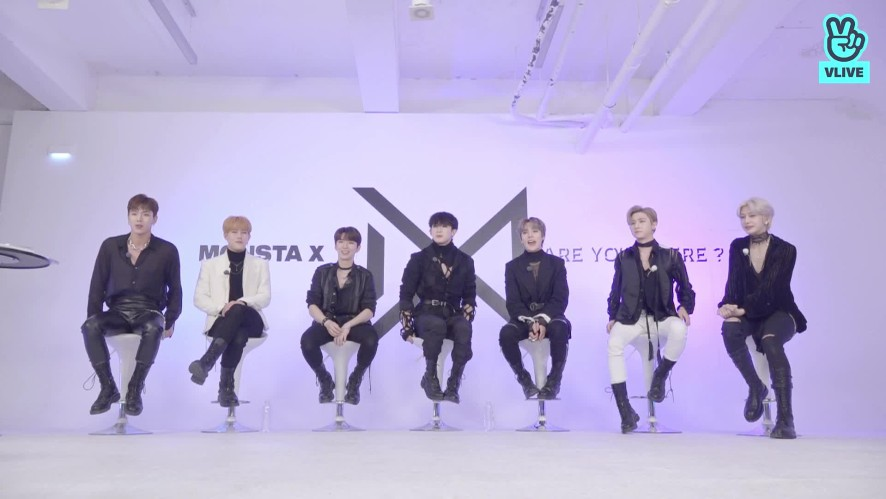 "[Replay] MONSTA X COMEBACK VLIVE ""ARE YOU THERE"""