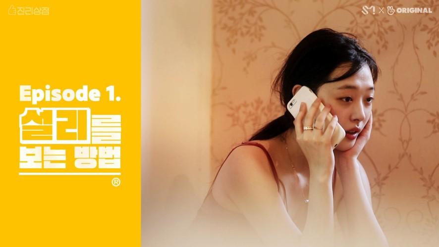 [진리상점│Jinri Market]EP01. 설리를 보는 방법