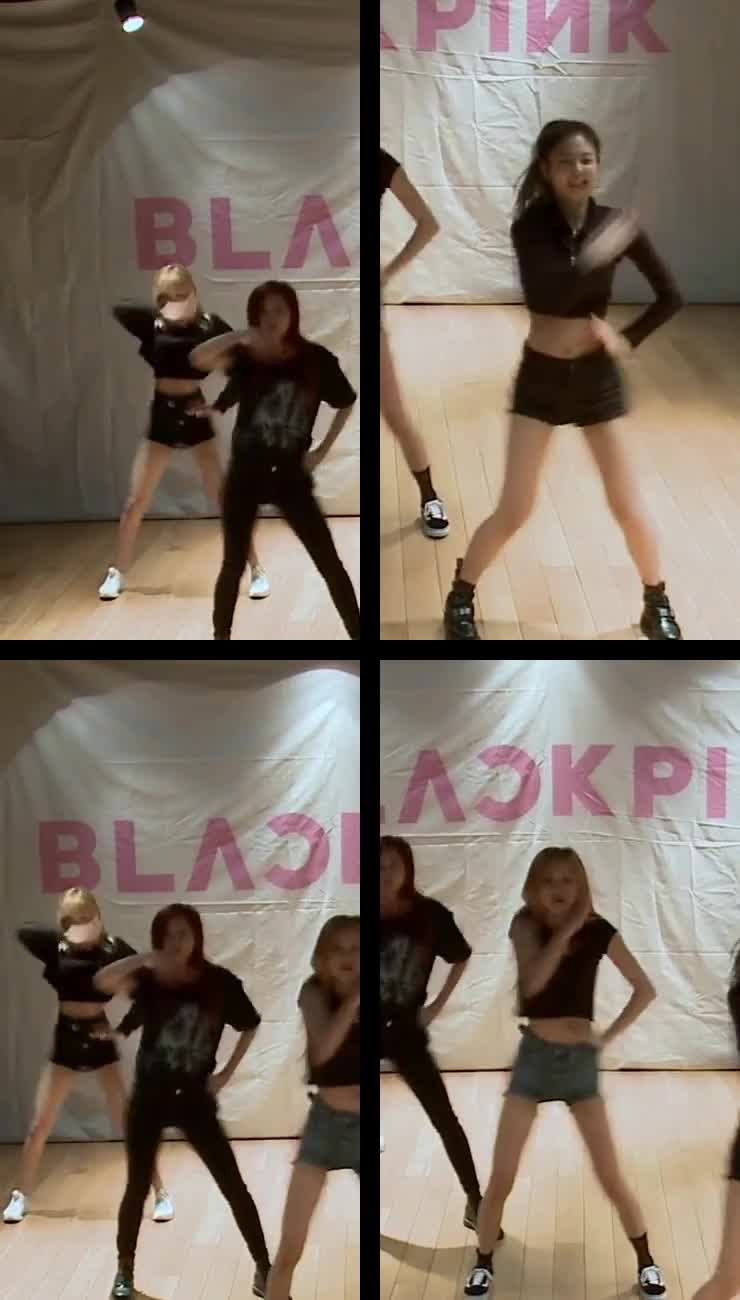 [AutoCam_All] BLACKPINK - '불장난(PLAYING WITH FIRE)' DANCE PRACTICE VIDEO