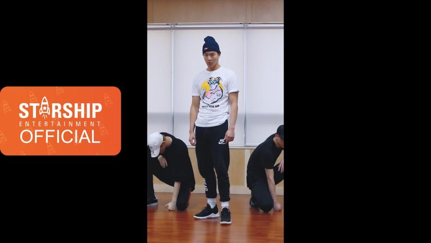 [SHOWNU][Dance Practice] 몬스타엑스 (MONSTA X) - 'SHOOT OUT' Vertical Video