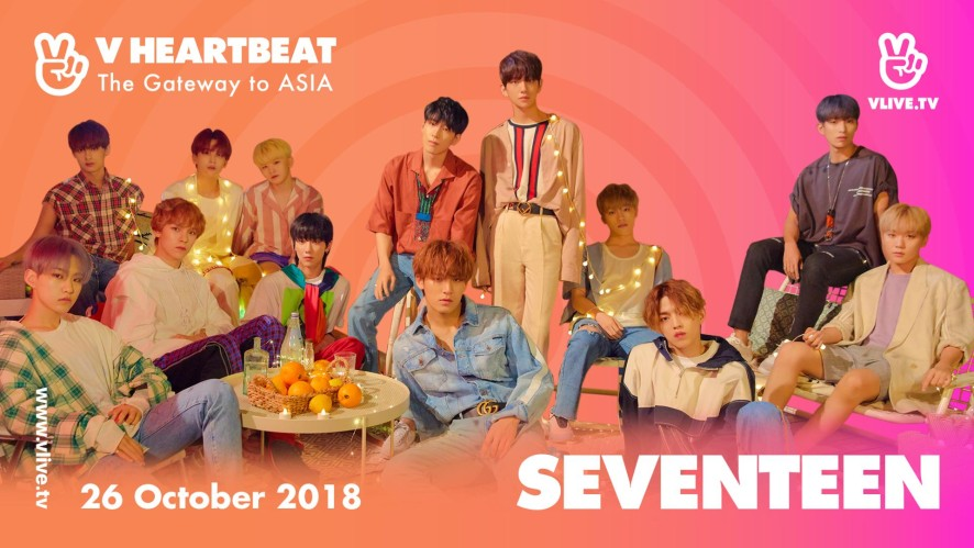 SEVENTEEN - OH MY! , Don't Wanna Cry , Clap - V HEARTBEAT LIVE OCTOBER