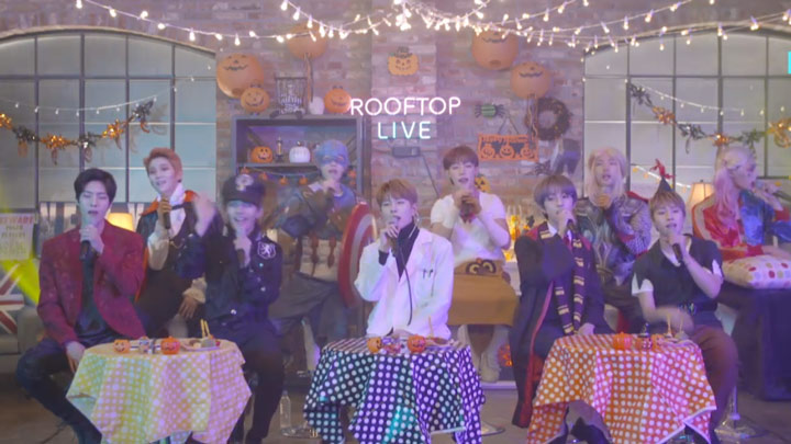 [Full] Golden Child X Rooftop Live - 골든차일드의 루프탑라이브!