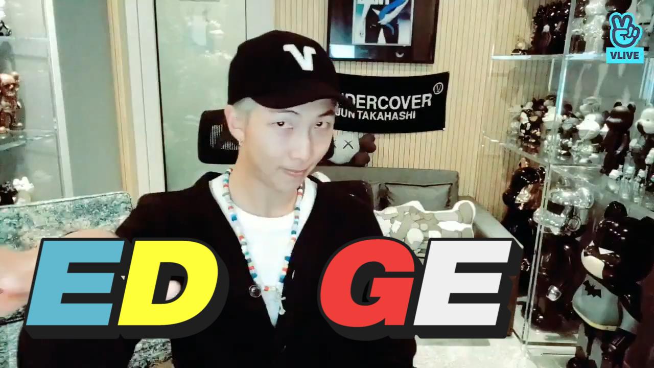 [BTS] 오늘도 평화로운 김덜렁씨의 하루🐨 (RM talking about his mixtape 'MONO')
