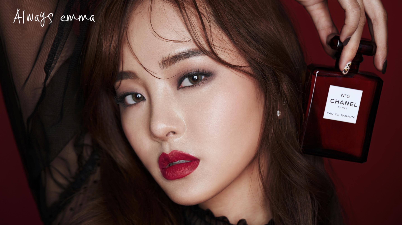 [화보장인엠마] - 화보 LOOK .7 CHANEL Special Red Make-up 샤넬 신상 + N°5 리미티드 에디션 리뷰!