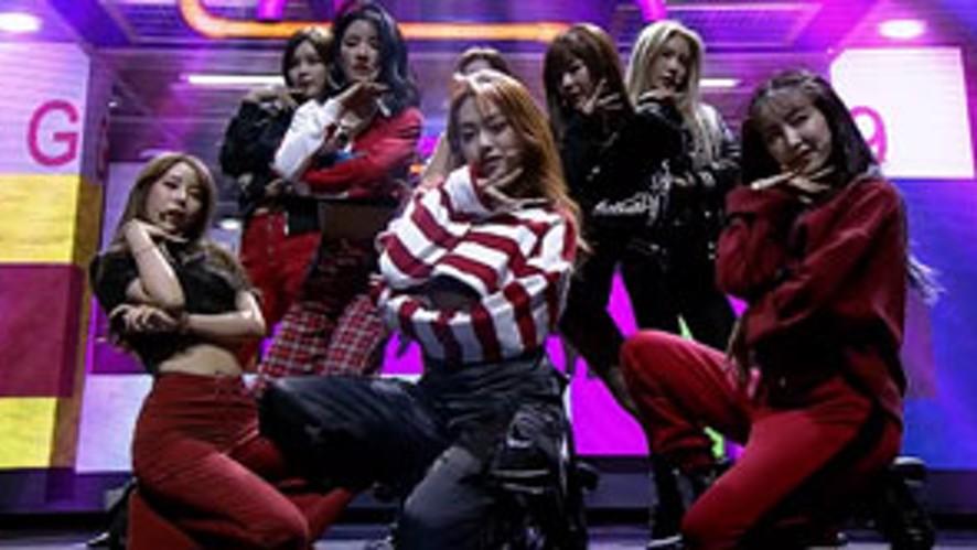 gugudan(구구단) - 'Not That Type' @gugudan 3rd MINI ALBUM [Act.5 New Action] showcase