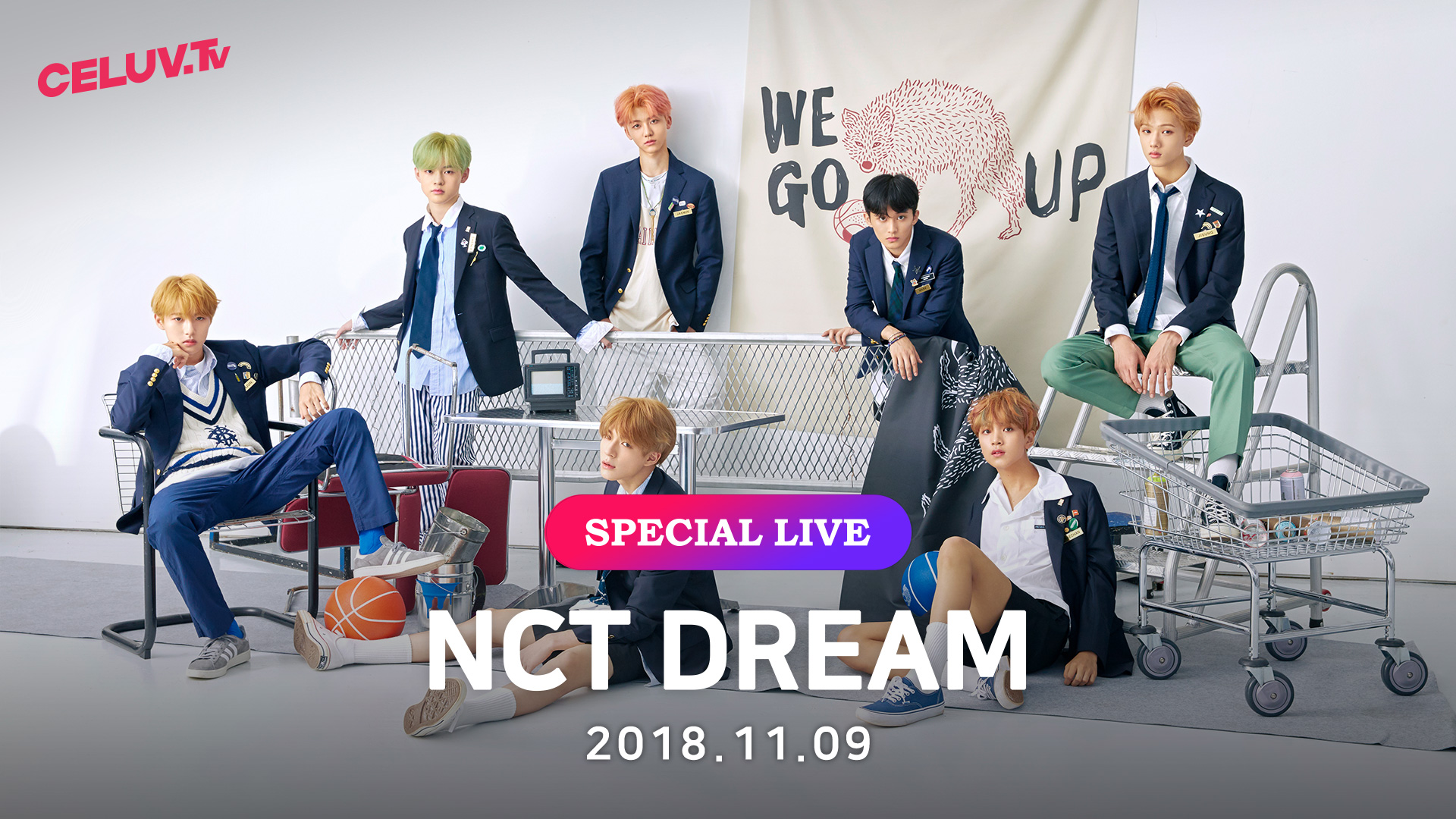 [I'm Celuv] NCT DREAM, 다 함께 Go Up 할 시간!