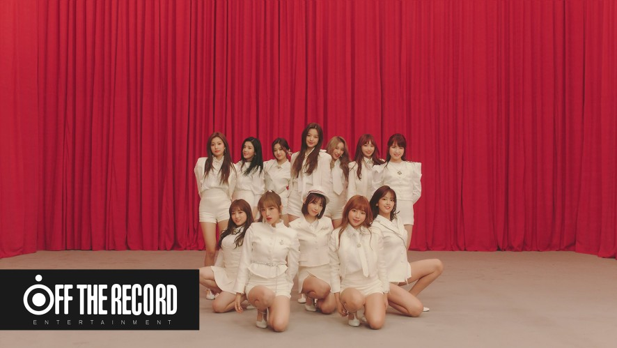 IZ*ONE (아이즈원) - '라비앙로즈 (La Vie en Rose)' MV Performance Ver